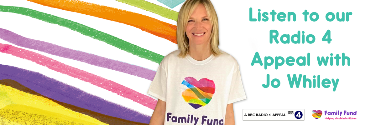 Jo Whiley Presents Family Fund's BBC Radio 4 Charity Appeal