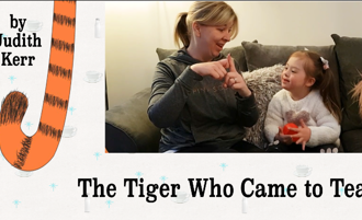 Read: The Tiger Who Came to Tea in Makaton